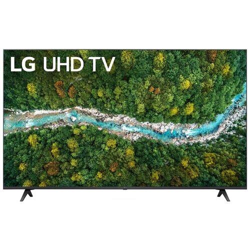 Фото - Телевизор LG 55UP77026LB 55 (2021), черный телевизор lg 32lm558bplc 32 2021 черный