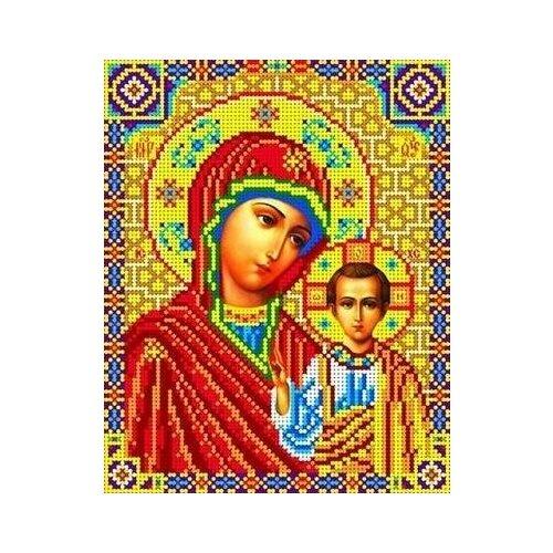 Набор Богородица Казанская бисер 18,5х23 Каролинка КБИ 4023 18,5х23 Каролинка КБИ 4023)
