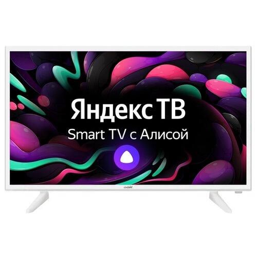 Фото - Телевизор BBK 32LEX-7290/TS2C 32 (2020) на платформе Яндекс.ТВ, белый телевизор bbk 39lex 7289 ts2c 39 2020 на платформе яндекс тв черный