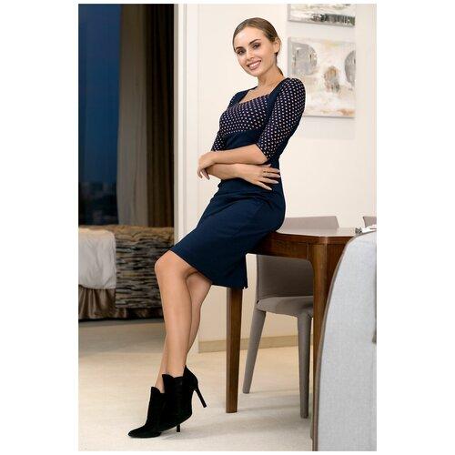 брюки ruxara ruxara mp002xw0f72l Платье RUXARA (7020, синий, размер: 44)
