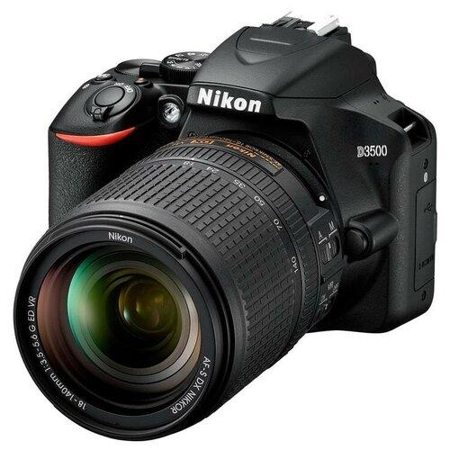 Фото - Фотоаппарат Nikon D3500 + 18-140 VR Kit (VBA550K004) фотоаппарат nikon z6 essential movie kit черный