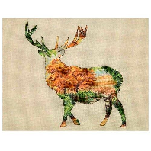 5678000-05043 Набор для вышивания MAIA 'Силуэт оленя' 20*26 см