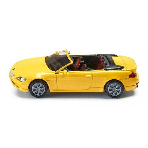 Легковой автомобиль Siku BMW 645i кабриолет (1007) 1:55, 9 см siku модель машины bmw 645i кабриолет 1007