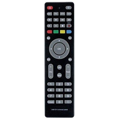 Фото - HUAYU Пульт ДУ HUAYU DVB-T2+3 универсальный для DVB-T2/C приемников, приставок, ресиверов (Version 2018) пульт huayu skytech 57g dvb t для dvb ресиверов goldmaster