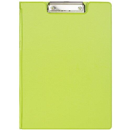 Папка-планшет с зажимом и крышкой Attache Bright colours A4 лайм 2 шт.