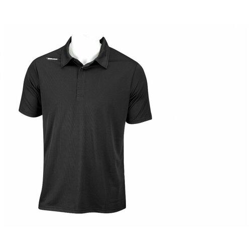 Поло BAUER SS Sport Polo(XL / черный/XL)