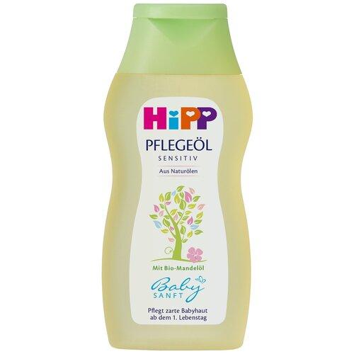 Детское масло HiPP Babysanft для чувствительной кожи, 200 мл