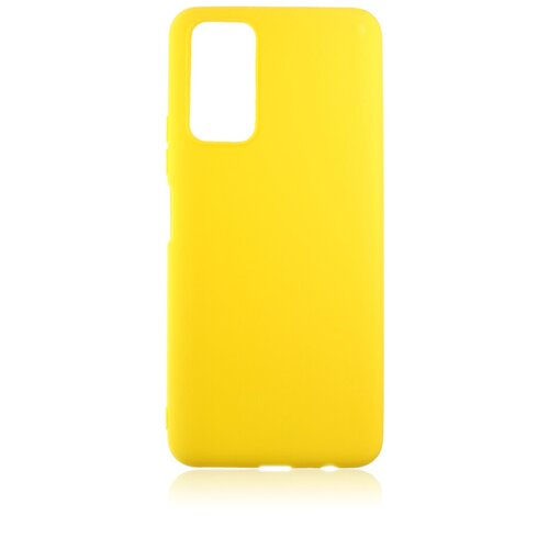 Силиконовый чехол для Honor 10X Lite Skiico / Чехол для Хонор 10Х Лайт Желтый