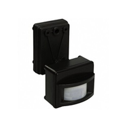 Датчик движения ДД 017 черный, макс. нагрузка 1100Вт, угол обзора 120град., дальность 12м, IP44   код. LDD13-017-1100-002   IEK