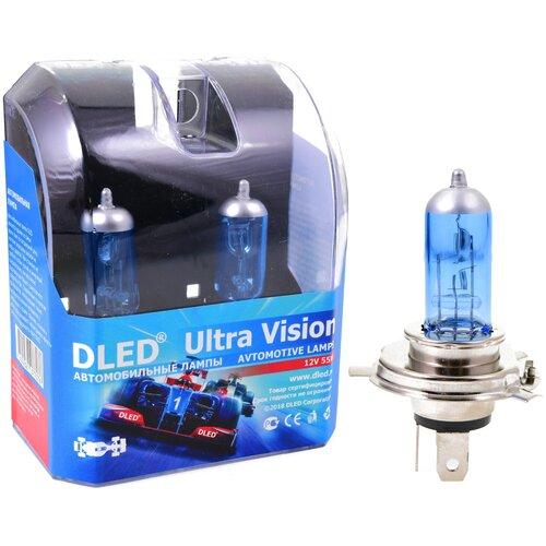 Автомобильные лампы H4 8000K DLED