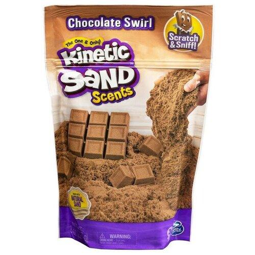 Kinetic Sand Набор для лепки Кинетический песок с ароматом шоколада 6053900 недорого