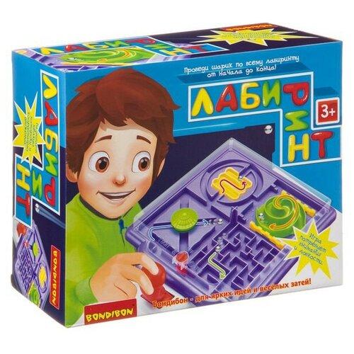 Настольная игра Лабиринт с джойстиком Bondibon bondibon настольная игра bondibon лабиринт с джойстиком прямоугольное поле