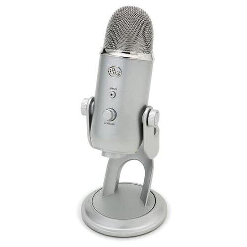USB микрофон Blue Yeti Серебристый
