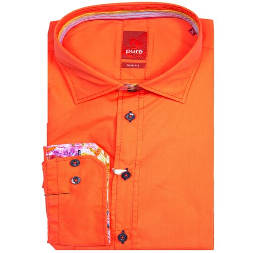 Рубашка pure размер L оранжевый