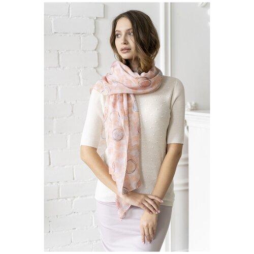 Палантин светло-розовый MYLIKE (9334, розовый, размер: 90x180см)