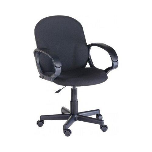 Кресло OLSS Ацтек кожзам с подлокотниками черное .