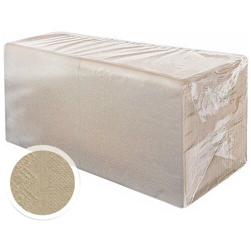 Салфетки бумажные сервировочные праздничные цветные 2сл 24см 300л Gratias Professional крафт