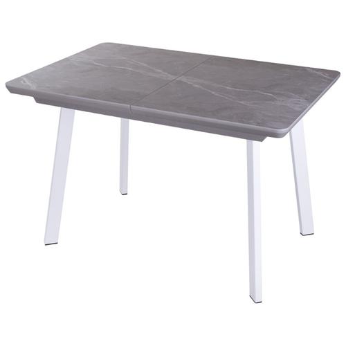 Стол кухонный с керамогранитом раскладной Блюз ПР-1 КРМ 87 СМ 93 БЛ