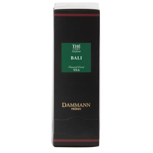 чай зеленый ароматизированный дамман bali бали жестяная банка 90 гр Чай зеленый Dammann The Vert Bali (Бали) 24 пакетика на чашку