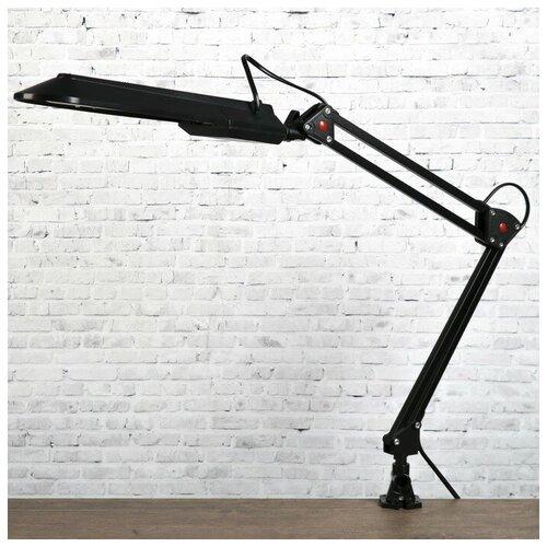 Уютель Настольная лампа 1х11вт G23 черный