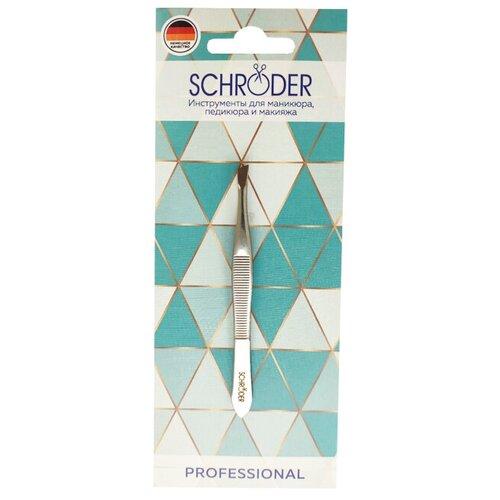 Пинцет Schroder Скошенный 1 шт