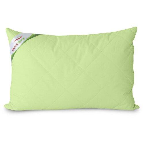 Подушка OL-TEX Бамбук 40x60 стеганный чехол (фисташковое) / Подушка с бамбуковым волокном