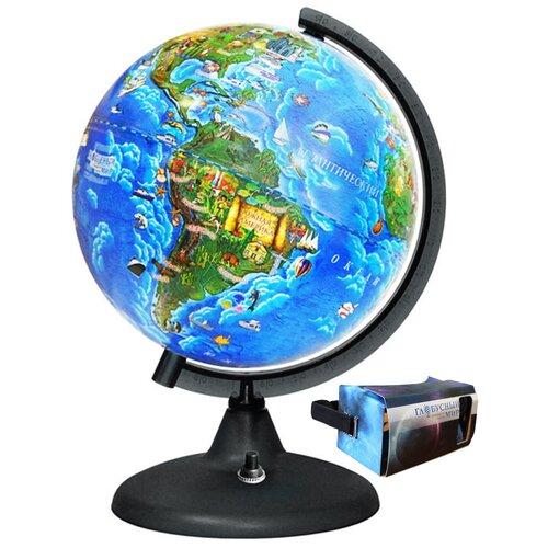 Глобус интерактивный Детский виртуальная реальность vr и ar подсветкой, 250 мм, 17039