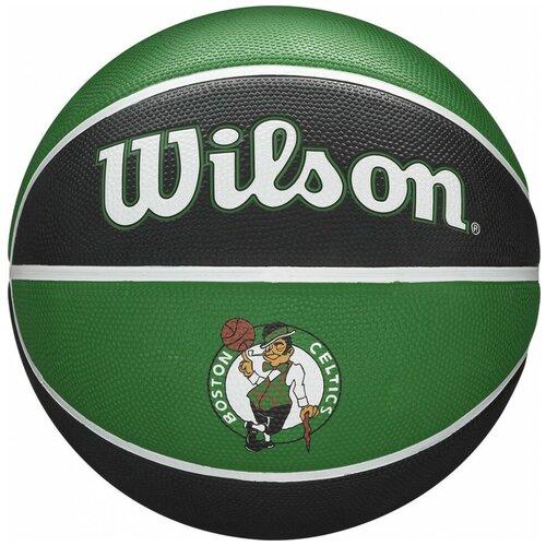 Баскетбольный мяч Wilson NBA TEAM TRIBUTE BOSTON CELTICS, WTB1300XBBOS, р.7