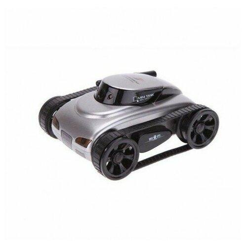 Радиоуправляемый мини танк-шпион I-Spy с камерой WiFi робот мини танк шпион happy cow i spy с камерой wifi 777 270 gray