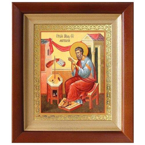 Апостол Матфей, евангелист, икона в киоте 14,5*16,5 см
