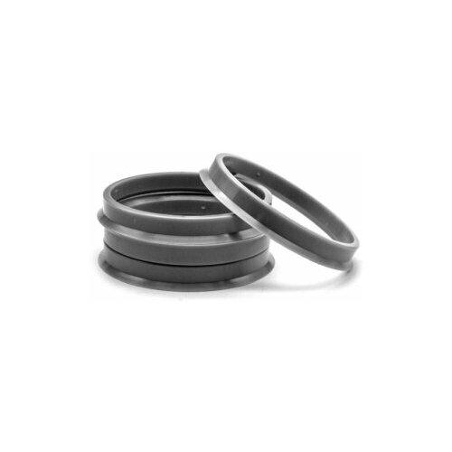 Центровочные кольца на колесные диски 60.1-57.1, термоустйчивый поликарбонат, 4 шт.