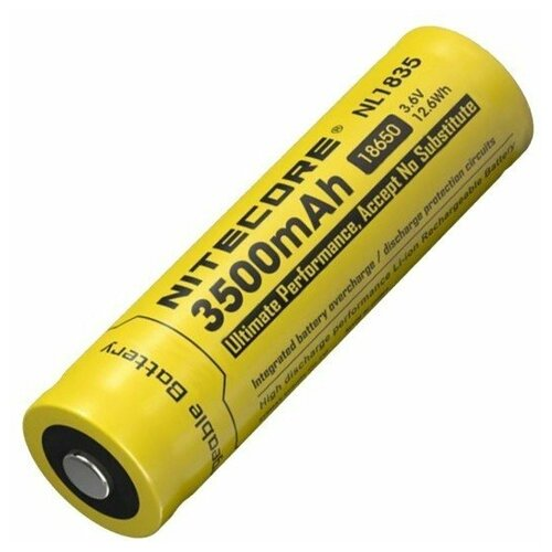 Фото - Аккумулятор Nitecore NL1835 18650 Li-ion 3.7v (3500mAh) аккумулятор nitecore nl1665r