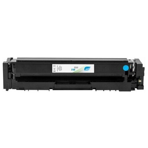 Фото - Тонер-картридж 054H C, голубой, для лазерного принтера Canon i-SENSYS, совместимый тонер картридж 054h c 3027c002