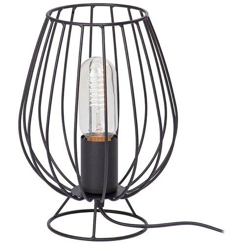 Лампа декоративная Vitaluce V4296-1/1L, E27, 60 Вт, цвет арматуры: черный