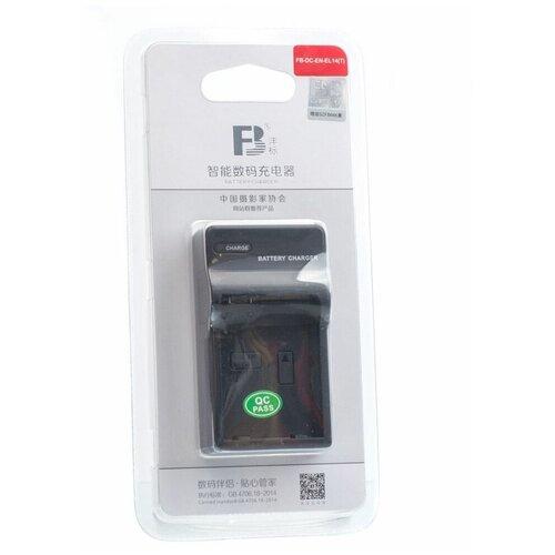 Фото - Зарядное устройство FB DC-EN-EL14(T) для Nikon EN-EL14 аккумулятор fb en el1 для nikon coolpix 4800 5000 5400 5700 8700