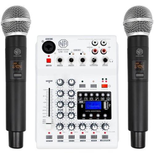 Радиомикрофон NOIR-audio UM-100 с микшером и Bluetooth