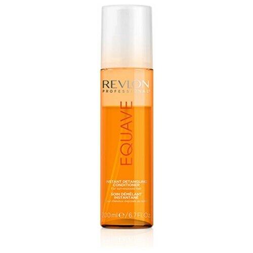 Фото - Кондиционер Revlon Professional Instant Beauty Sun Protection Detangling Conditioner 200 мл revlon professional шампунь equave instant beauty hydro detangling 250 мл