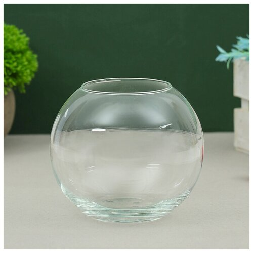 Фото - Evis Ваза Кюгель-2 шаровая d-7.5см 11х11 см 0,95 л ваза шаровая d 14см 22х19см 5л 1001570
