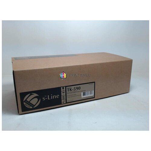 Картридж Bulat s-Line для Kyocera Mita FS-C5250, C2026, C2126 (5000 стр.) Magenta TK-590M с чипом