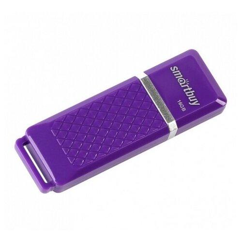 Фото - Флешка SmartBuy Quartz 16 GB, фиолетовый beautiful butterfly clip on quartz watch