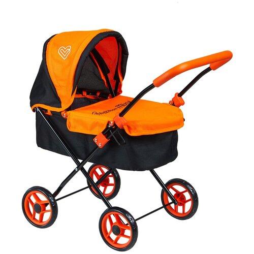 Фото - Детская игрушечная классическая коляска Buggy Boom для кукол Mixy 8015 с козырьком коляски для кукол buggy boom инфиниа 8459 2 в 1