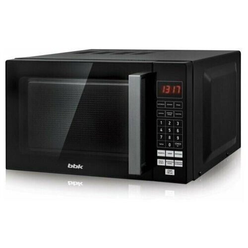 Микроволновая печь BBK 20MWS-779S/B black (20л, 700Вт, соло, электронное управление) (20MWS-779S/B)