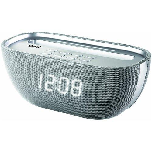 BV-Q-17WSU BVItech радио-часы сетевые (белый/серебро/USB/BT)