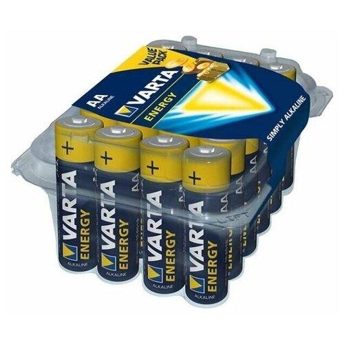 Фото - Батарейка VARTA ENERGY AA, 24 шт. батарейка varta energy aa 6 шт