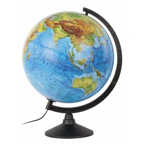 Фото - Глобус физический GLOBEN Классик, диаметр 320 мм, с подсветкой, К013200017 globen глобус земли globen физический с подсветкой 150 мм