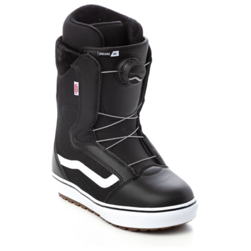 Ботинки для сноуборда женские VANS Wm Encore Og Black/White 2022