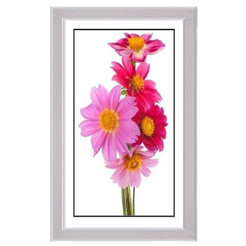 21 ВЕК Картина в багете 21 Век Цветы 45х95 см НР099