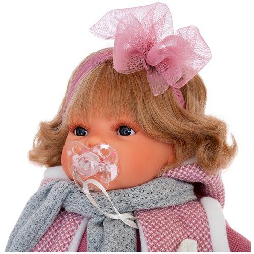 Фото - Интерактивная кукла Antonio Juan Лорена в розовом 37 см 1558P кукла antonio juan антония в розовом 40 см 3376p