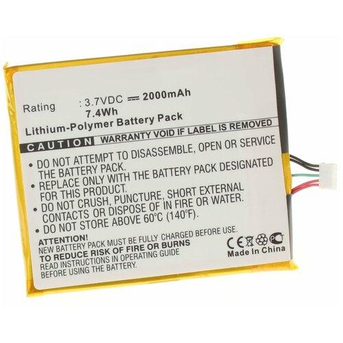 Аккумулятор iBatt iB-U1-M565 2000mAh для Philips Xenium W737, CTW737NAY, Xenium W736,