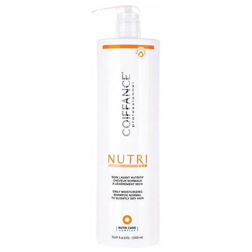 Coiffance Nutri - Питательный и увлажняющий протеиновый шампунь для нормальных и сухих волос (без сульфатов) 1000 мл недорого